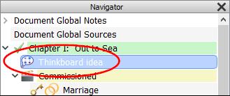 Thinkboard Navigator
