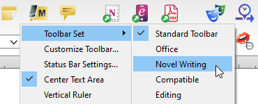 Changing the toolbar icons