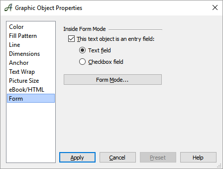 Creating a Form With Papyrus Author