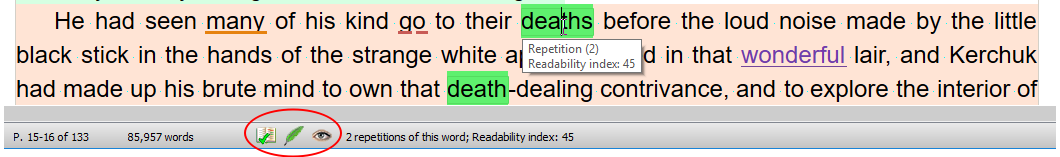 Spellcheck, Papyrus Style Analysis and Readability are good to go.