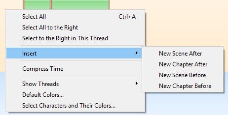 Timeline Inster new element