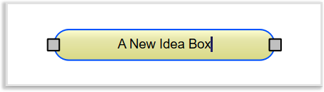 An idea box in Papyrus Author Thinkboard